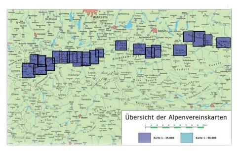 lechtaler alpen karte