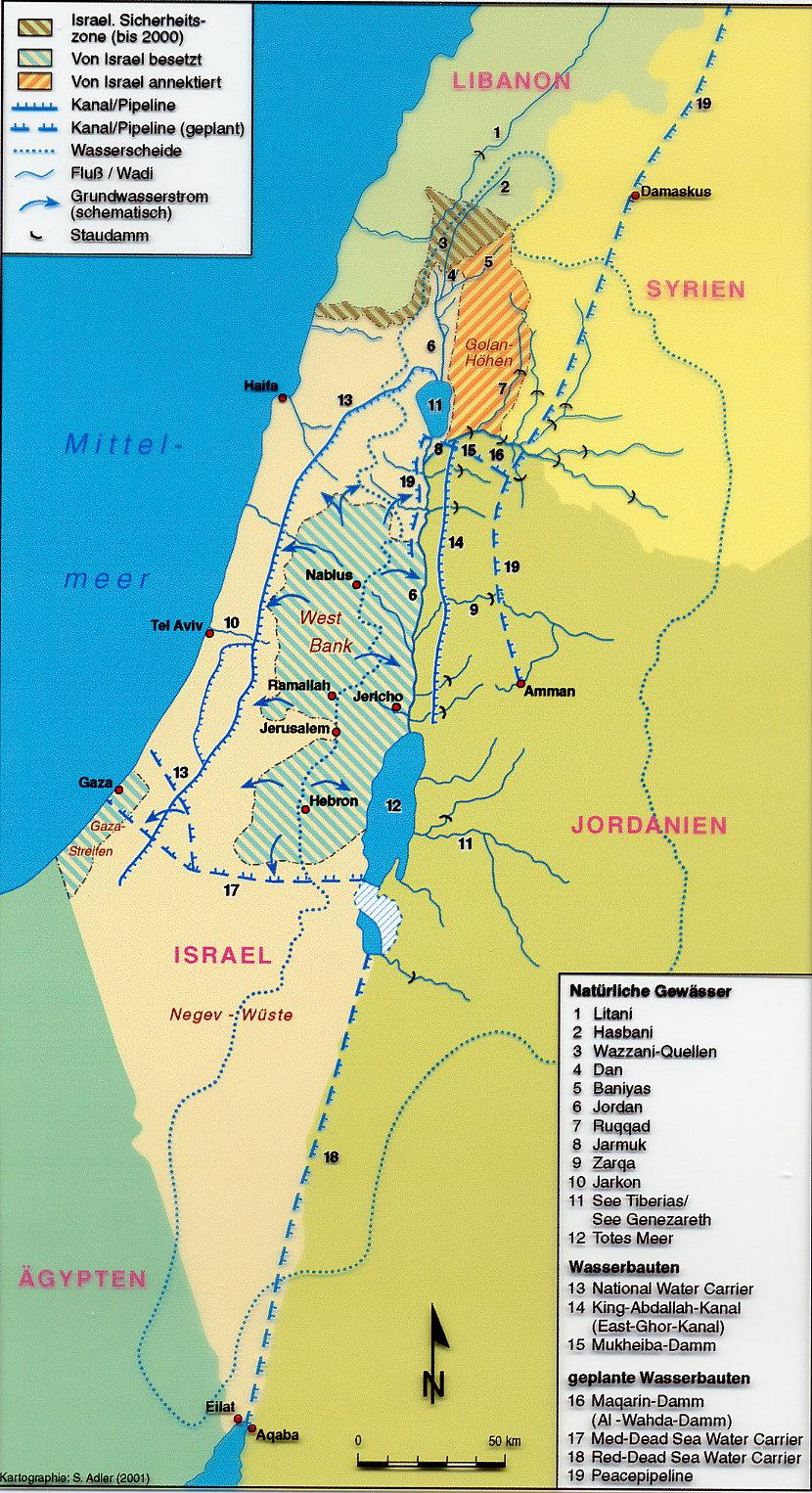 Orient-Seminar: Wasser als Konfliktfaktor