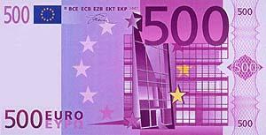 Maße 500 Euro Schein Dicke